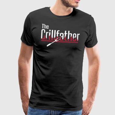 The Grillfather - Premium-T-shirt herr
