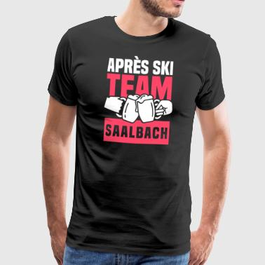 Après Ski Team Saalbach - Men's Premium T-Shirt