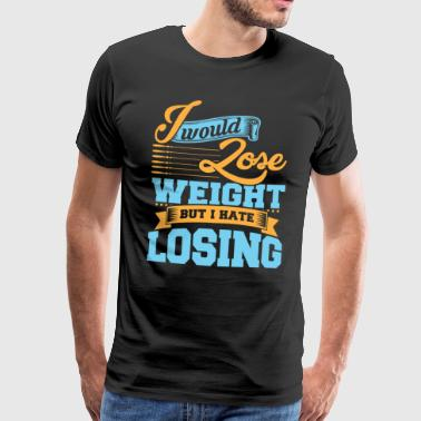 Overweight gift to lose weight - Men's Premium T-Shirt