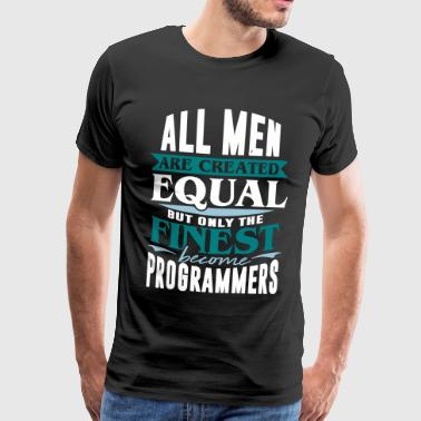 Programmer Technology IT Computer Control PC - Men's Premium T-Shirt