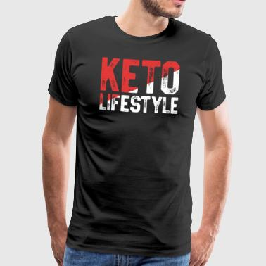 Keto Fueled By Keto - Funny Keto Shirt For Women - Ketosis - Men's Premium T-Shirt