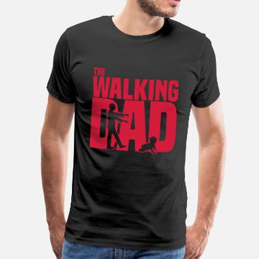 Serie the walking dad - Der laufende Papa-Lustig -Zombie - Männer Premium T-Shirt
