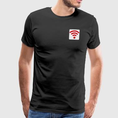 wifi wireless internet gift idea - Men's Premium T-Shirt
