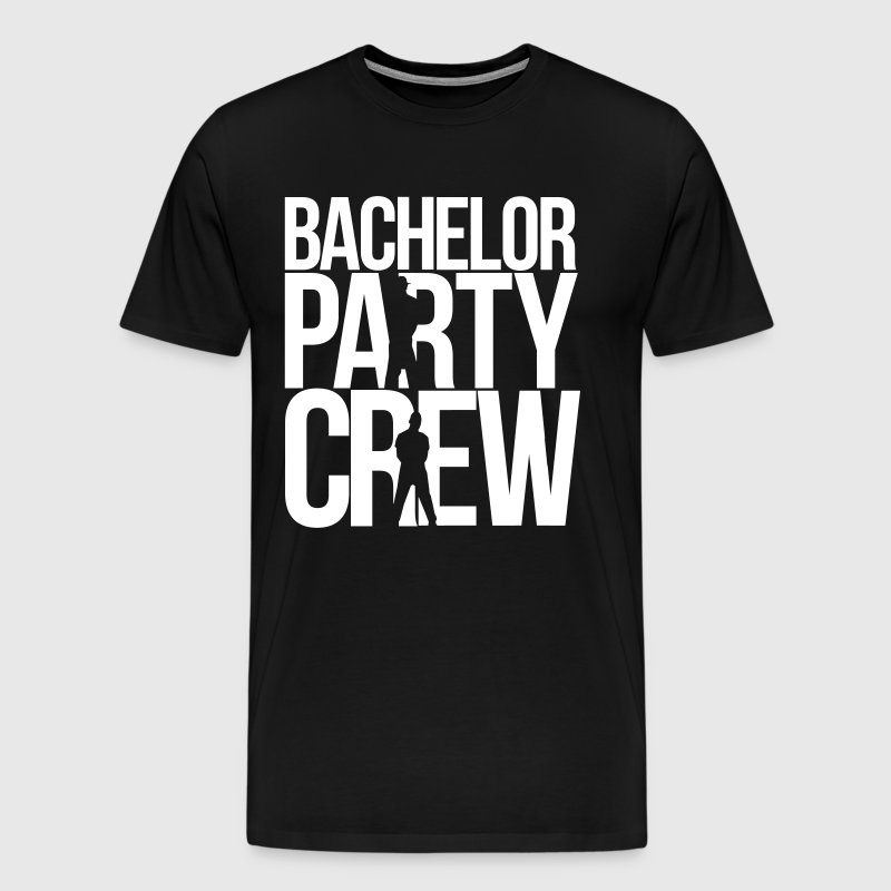 bachelor party crew - Men's Premium T-Shirt