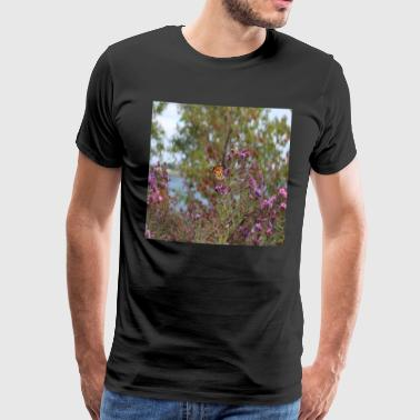 monarch butterfly in toronto Canada - Camiseta premium hombre