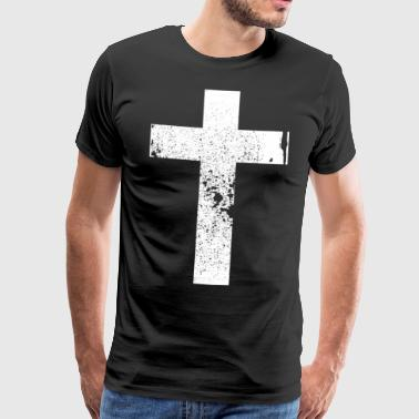 Christen Kreuz / Cross  - Männer Premium T-Shirt