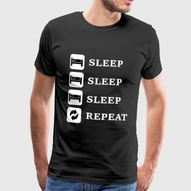 Sleep, Sleep, Sleep, Repeat - Men's Premium T-Shirt