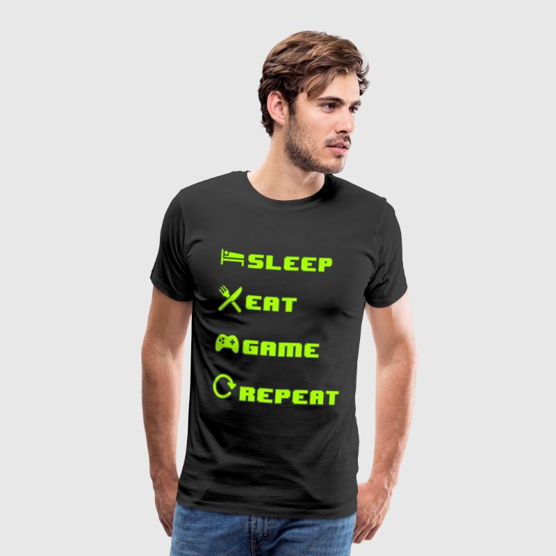 Gamer's Cycles - Men's Premium T-Shirt