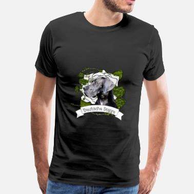 Great Dane Great Dane - Great Dane - Mannen Premium T-shirt
