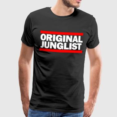 Original Junglist OLD SKOOL - Men's Premium T-Shirt