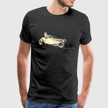 Retro Hot Rod y Pin Up - Camiseta premium hombre