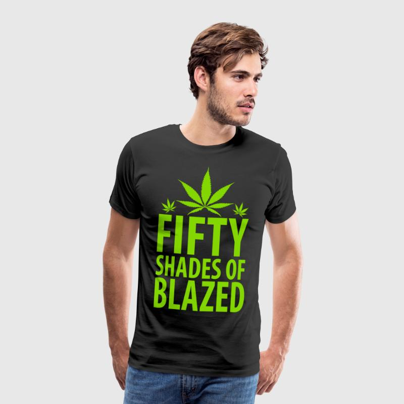 50 Shades Of Blazed - Men's Premium T-Shirt