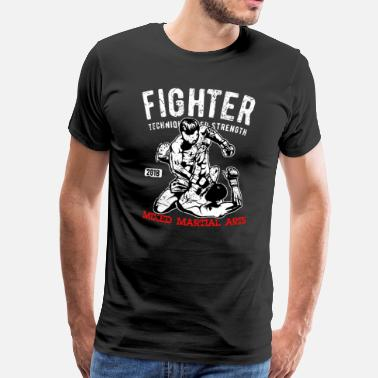 Mma Fighter - MMA Fighter - Kampsport - Premium T-skjorte for menn