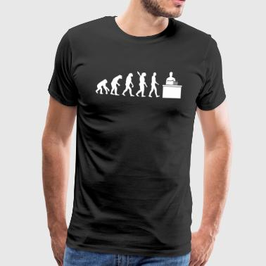 Evolution TEACHER TEACHER TEACHER TEACHER - Men's Premium T-Shirt