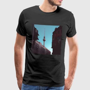 Berlin TV tower - Men's Premium T-Shirt