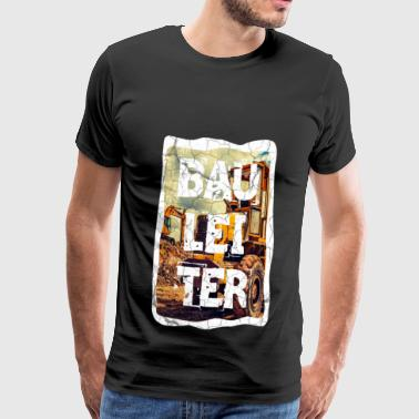 Construction construction site site manager construction worker bricklayer - Men's Premium T-Shirt