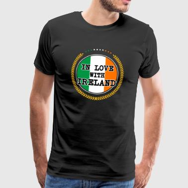 In Love With Ireland - Männer Premium T-Shirt