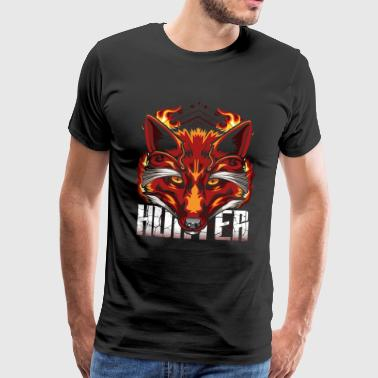 Fire Fox Modern Foxes - Men's Premium T-Shirt