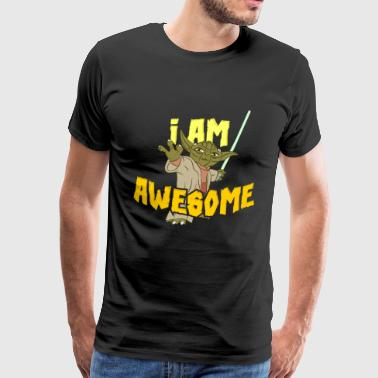 Awesome I am - Männer Premium T-Shirt