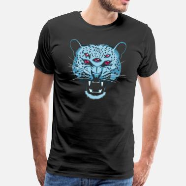 Weird Trippy Pathfinder Jaguar - Men's Premium T-Shirt