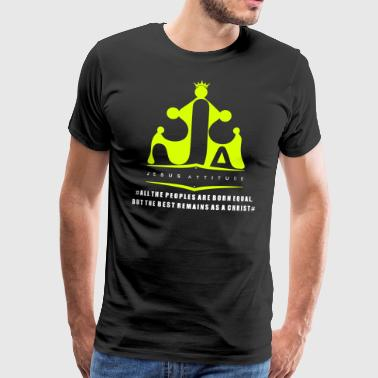 All the peoples are born equal ... - Men's Premium T-Shirt