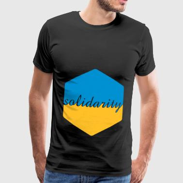solidarity symbol - Men's Premium T-Shirt