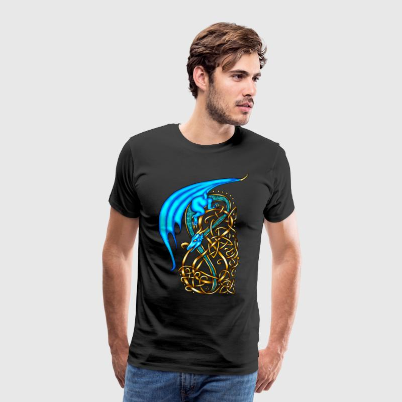 Celtic Dragon - Men's Premium T-Shirt