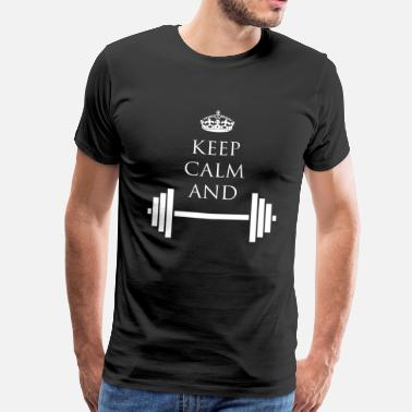 If The Crown Fits Fitness Lifestyle - Men's Premium T-Shirt