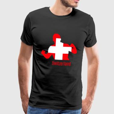 Coupe du monde de football Coupe du monde de football Suisse - T-shirt Premium Homme