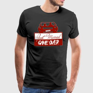 Just Married: Game over - Men's Premium T-Shirt