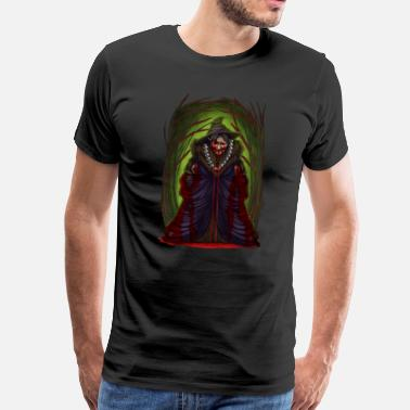 Horrible Halloween Horror Witch Scary Monster Costume Gift - Men's Premium T-Shirt