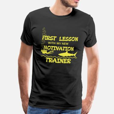 Personal Trainer First Lesson - Motivation Trainer - Camiseta premium hombre