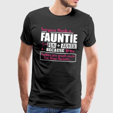 Fauntie fun and auntie - Men's Premium T-Shirt