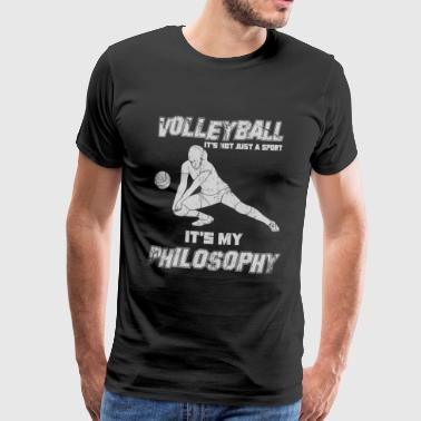 Volleyball Setter Volleyball Philosophy setting - Men's Premium T-Shirt