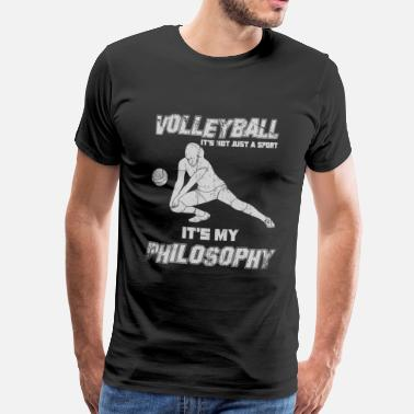 Volleyball Volleyball Philosophy setting - Men's Premium T-Shirt