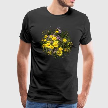 Producer A flower meadow is a bee pasture - Men's Premium T-Shirt