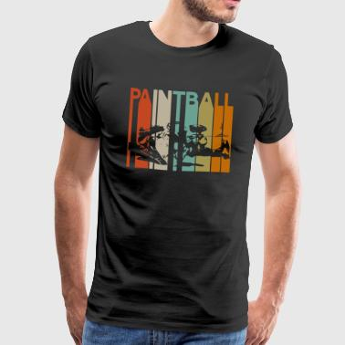 Paintball Speedball paint balls Airsoft Deathmatch - Men's Premium T-Shirt