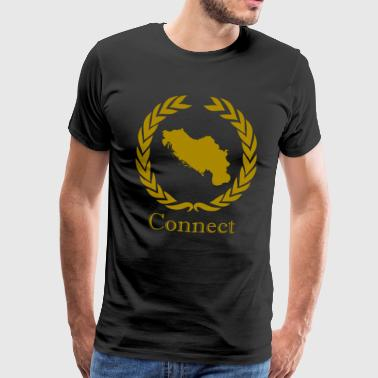 CONNECT COLLECTION LMTD. EDITION - Herre premium T-shirt