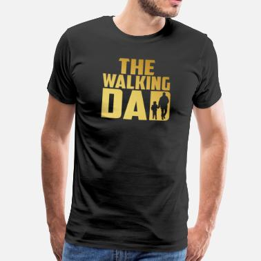 Walking Dead The Walking Dad - Miesten premium t-paita