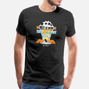 Mega Park MALLORCA APRÈS SKI Malle Party Beer Drinking - Men's Premium T-Shirt