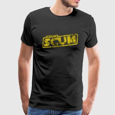 Rebel Scum - film quote avskum opprørere Fantasy - Premium T-skjorte for menn