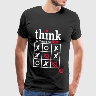 Think Outside The Box Think Outside The Box - Men's Premium T-Shirt