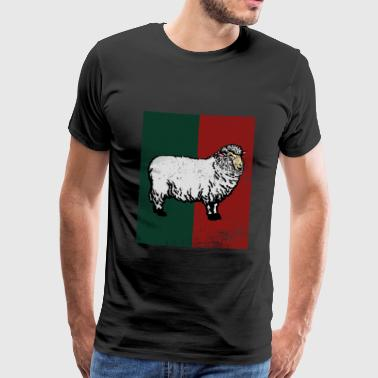 Sheep goat herd animal gift - Men's Premium T-Shirt