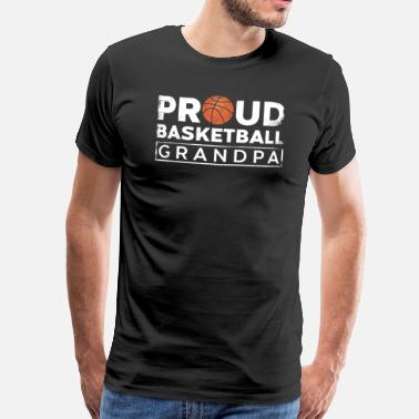 Slamdunk basketball - Premium T-skjorte for menn