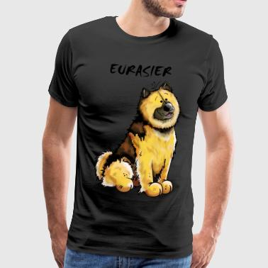 Happy Eurasier - Men's Premium T-Shirt