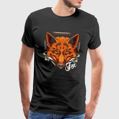 Forest dweller fox forest animal animal - Men's Premium T-Shirt