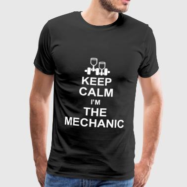 Meccanico keep_calm_im_the_mechanic_g1 - Maglietta Premium da uomo