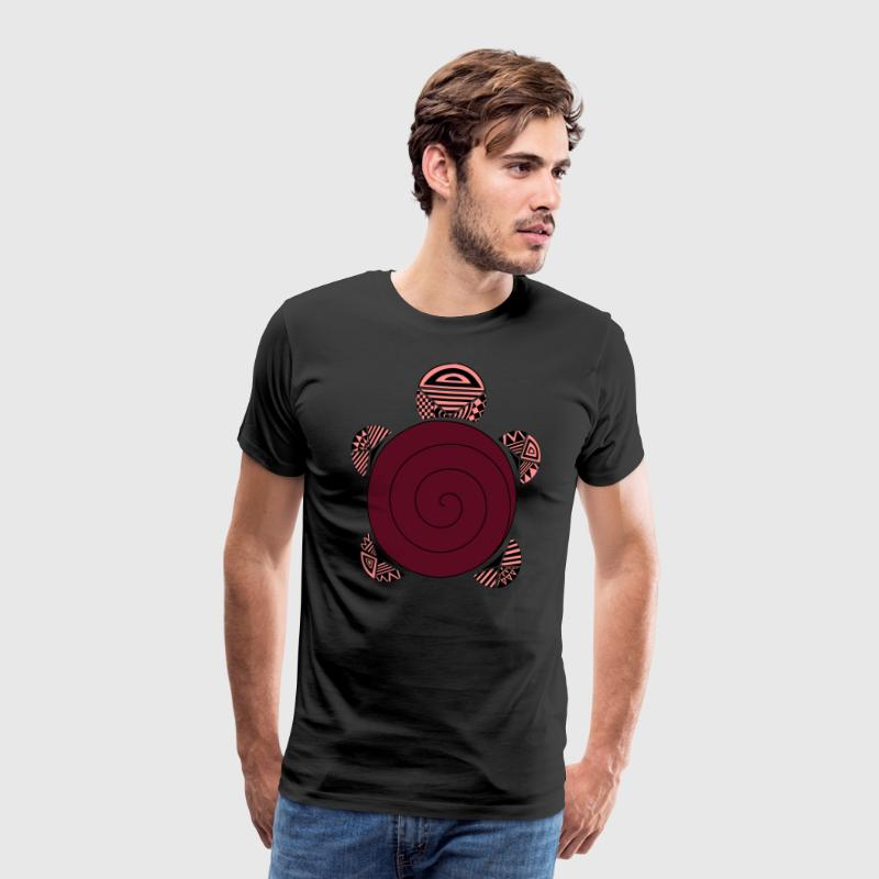 tortue rouge - T-shirt Premium Homme