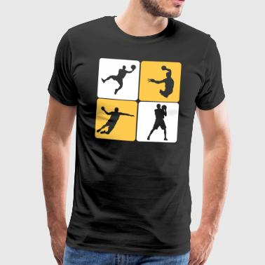 Handball Player - T-shirt Premium Homme