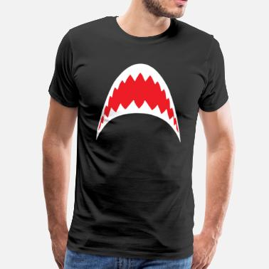Jaws Shark Shark Bite Jaws - Men's Premium T-Shirt